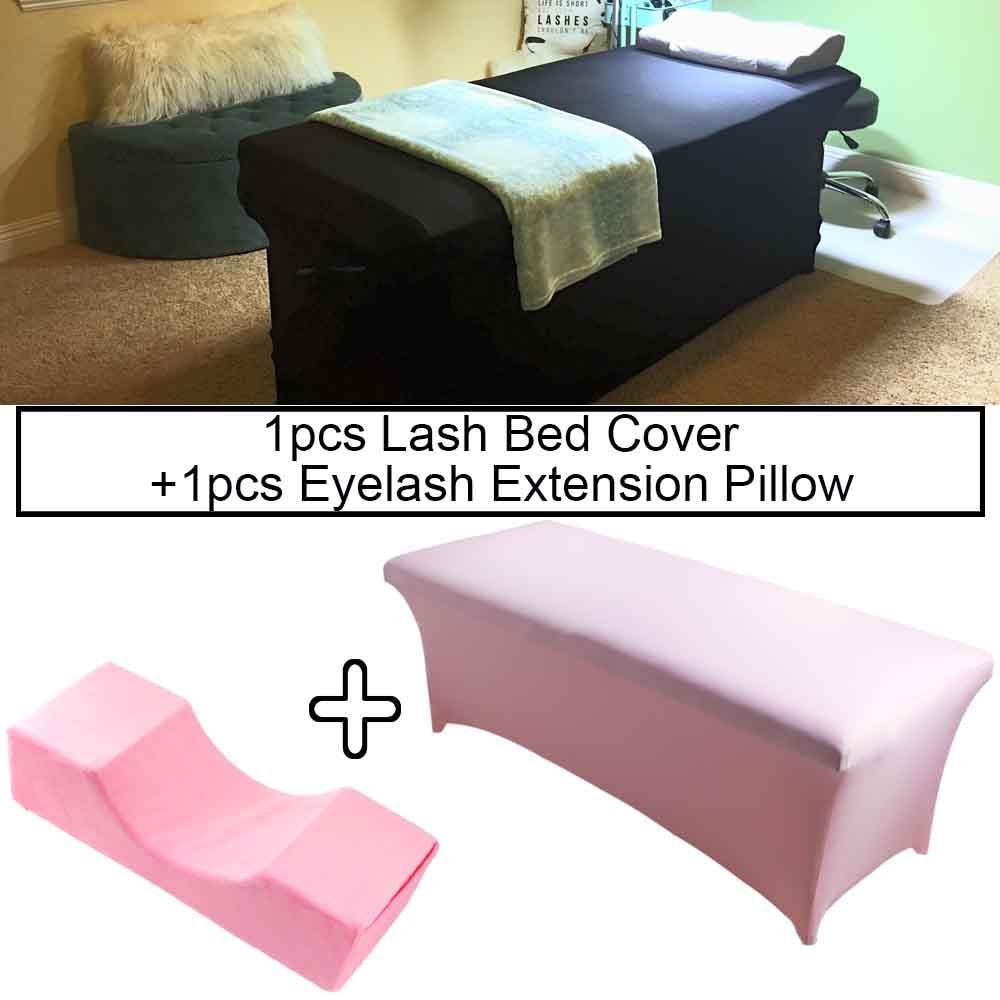 Lash Pillow Memory Foam Eyelash Extension Pillow 1pcs Elastic Lash Bed Cover For Grafting Eyelashes Makeup Tools Beauty Salon