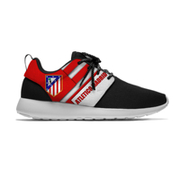 Atletico De Madrid Sport Shoes Football Club Fans FC Soccer Lightweight Breathable Casual Sneakers Men/Women Running Meshy Shoes