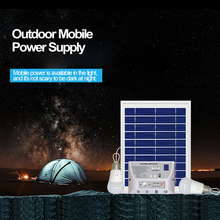 Portable Solar Light Photovoltaic Power Bank Mobile Phone Charging
