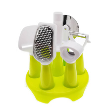 Hot Sell Food Grade Handle Stainless Steel Multi-Function Kitchen Tools