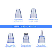 Microdermabrasion Blackhead Remover Vacuum Suction Face Pimple Acne Comedone Extractor Facial Pores Cleaner Skin Care Tools 38 5