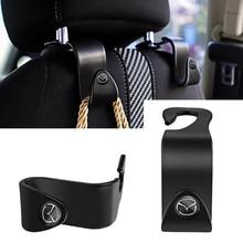 2Pcs Universal Car Seat Back Hooks Auto Interior Accessories For Mazda Mazda 3 Mazda 6 Mazda 2 Demio CX30 CX3 CX4 CX5 CX7 CX9