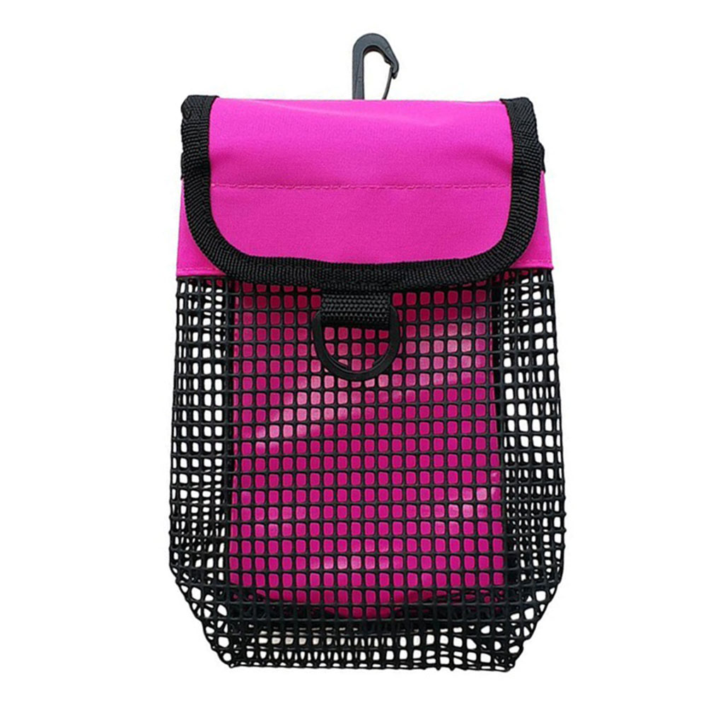Heavy Duty Equipment Compact Diving Portable PVC SMB Safety Marker Water Sports Pouch Buoy Accessories Bolt Snap Holder Mesh Bag