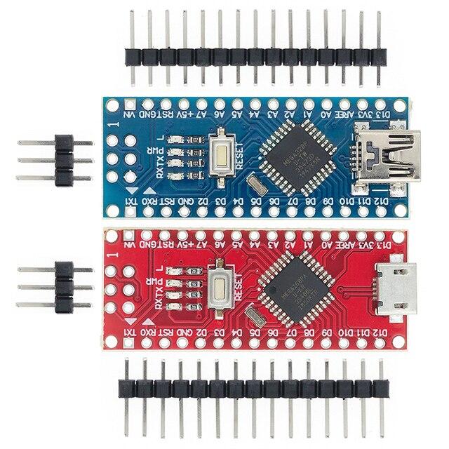 を100個nanoブートローダ互換ナノ3.0 arduinoのCH340 usbドライバ16mhzナノv3.0 ATMEGA328P/168p