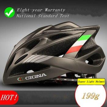 CIGNA casco de ciclismo mtb y bicicleta de carretera casco súper ligero...