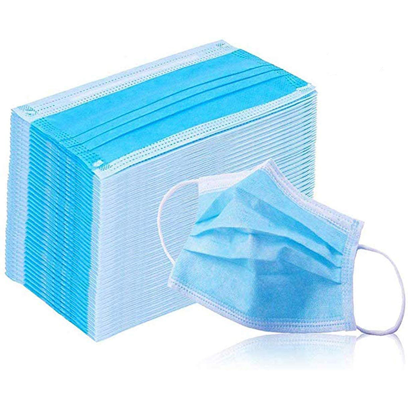 10Pcs Disposable Filter Mask 3 Ply Earloop Breathability Comfort Breathable Dust Mask