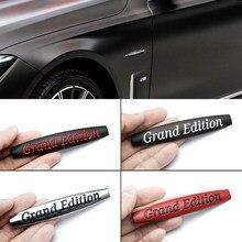 Coche 3D de Metal de gran edición insignias adhesivas para Mercedes Benz C E SLK GLK CLS M GL MB GLC A260 GLA Clase E W201 exclusiva AMG C260