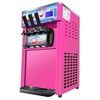 220V 1200W desktop commercial soft serve ice cream machine soft ice cream maker three color ice cream making machine ZM 168 hot