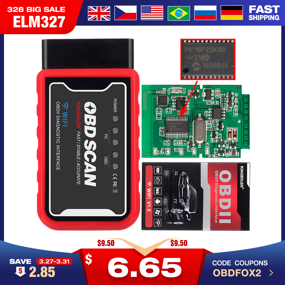 ELM327 mini bluetooth V1.5 PIC1825K80 super mini elm 327 wifi USB OBD2 connector V2.1 voor Android torque codelezer scanner title=