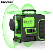 Laser Level Green 12 Lines 3D Self-Leveling 360 Horizontal And Vertical Cross Super Powerful