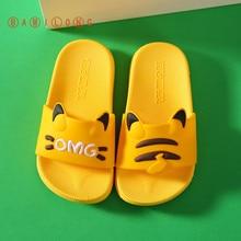 Slippers Flip-Flops Cat-Shoes Girls Kids Indoor Todder Kawaii Animal Infant Baby Beach