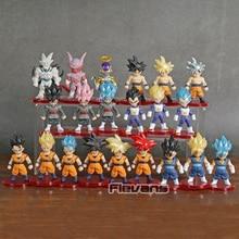 Figuras coleccionables de Dragon Ball Z, Super Saiyan, Son Goku, Gohan, Vegeta, Vegetto, freezer, Janenba, en PVC, DBZ
