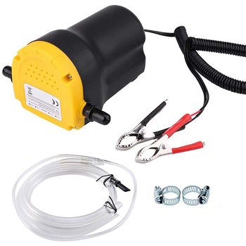 12V 60W Electric Car Oil Pump Crude Oil Fluid Pump Extractor Transfer Engine Suction Pump + Tubes for Auto Car Boat Motorcycle 12v 60w oil crude oil fluid sump extractor scavenge exchange transfer pump suction transfer pump tubes for auto car boat mot
