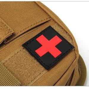 Image 2 - Camping Taktische Überleben Erste Hilfe Tasche First Aid Kit Medizin Organizer Hause Auto Wasserdichte Bein Notfall Kit Wald Überleben