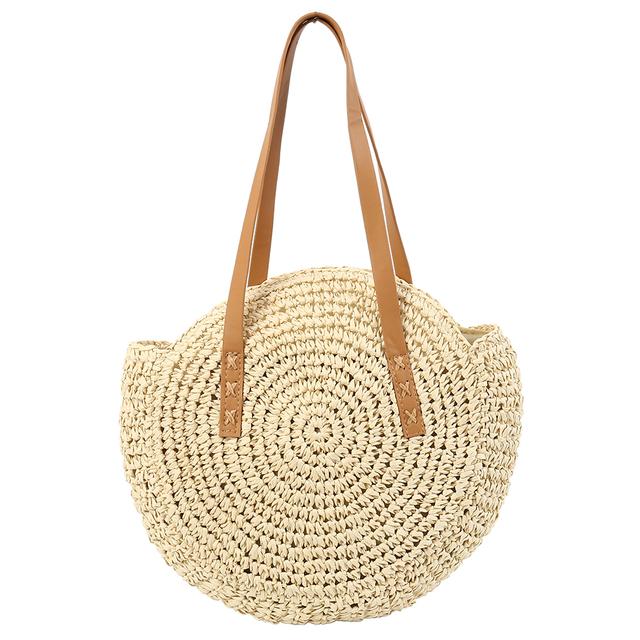 Beach Rattan Hand Woven Straw Bag Summer Collection