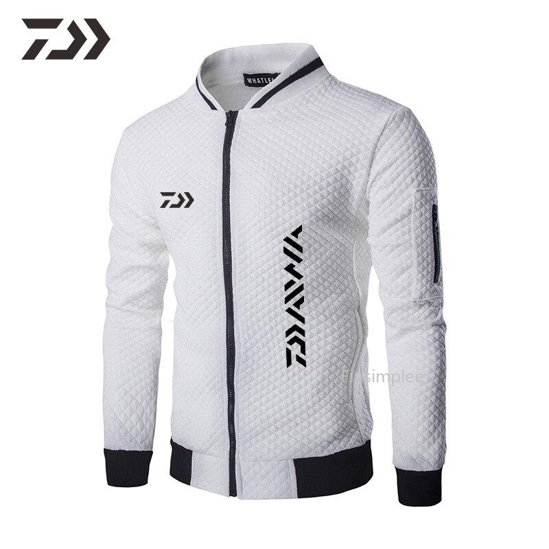 pesca com ziper agasalho casaco casual jaqueta ao ar livre 04