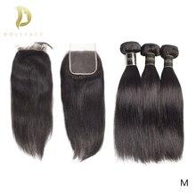 وصلات شعر برازيلي 8 إلى 30 40 حزم شعر بشري بالبوصة مع إغلاق غير ريمي طبيعي مستقيم قصير الشعر الطويل نسج