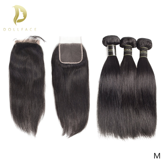 brazilian hair extension bundles 8 to 30 40 inch human hair bundles with closure non remy natural straight short long hair weave