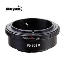 Anneau adaptateur de montage fd eos pour objectif Canon Fd vers caméra de montage Ef eos caméscope usinage de précision ne peut pas porter lobjectif de protection