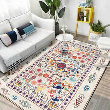 Мода Американский коврик в стиле ретро; Цветочный мотив ковер