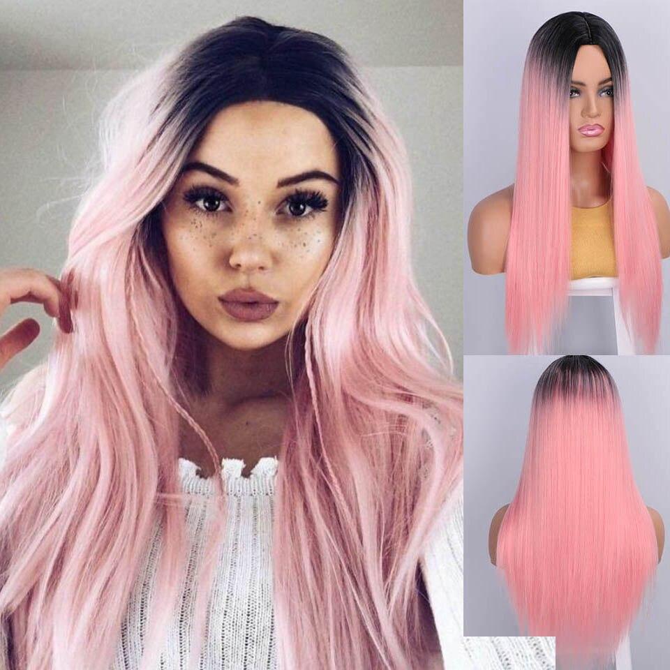 Aisibeauty perucas para mulheres omber 26 polegadas