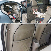 1PCS Baby Anti-kick Pad Child Car Seat Back Cover Protective Cover Wear Pad Transparent Anti-fouling Pad Car Accessories
