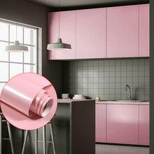 Self Adhesive Waterproof Stickers Furniture Decorative Sticker PVC Vinyl Bathroom Kitchen Cupboard Countertop Decor Wall Sticker