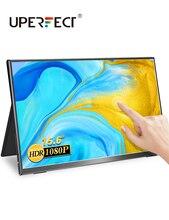 UPERFECT FHD 1080P Monitor portatile Touchscreen da 15.6 pollici per cellulare Ps4 Xbox Switch Display da gioco schermo LCD per PC portatile