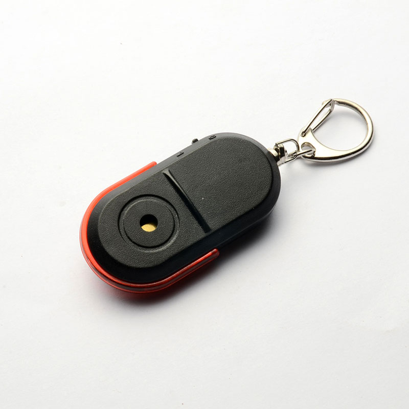 Whistle Sound LED Light Anti-Lost Alarm Key Finder Locator Keychain Device PR Sale