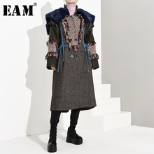 Coat Loose Sleeve Fur