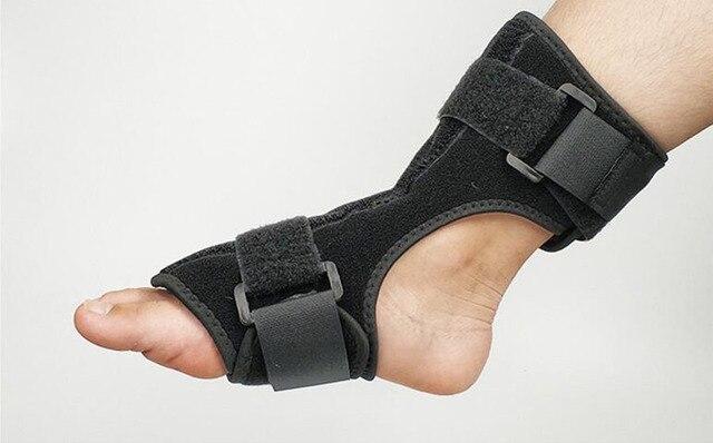 A gota do pé orthoses tornozelo apoio ortopédico parcial dia e noite com engrenagem de apoio suficiente entrou em colapso na recuperação 6