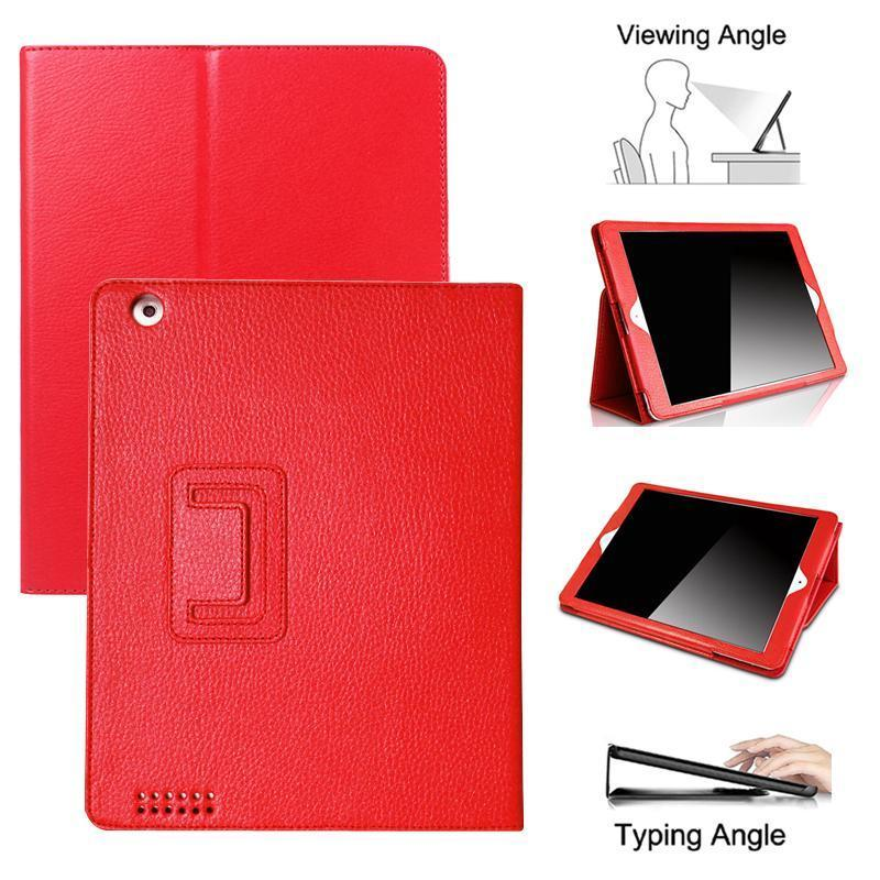 Stand Case For <font><b>iPad</b></font> 1 4 3 2/Air 1 2 3 2019/i Pad <font><b>2017</b></font> 2018 <font><b>9.7</b></font>/<font><b>Pro</b></font> 10.5 Fold Smart Leather PU Cover For iPad1 A1337 A1395 Case image