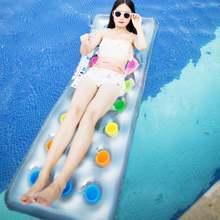 Водные виды спорта ПВХ воздушный матрас бассейн пляжный надувной