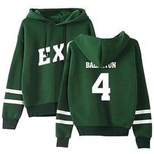 EXO Striped Bias Hoodies (24 Models)