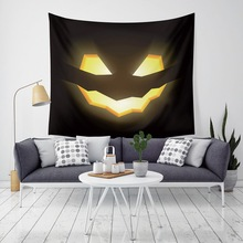 Newest Fashion Tapestry Printing 2019 Halloween Trick Treat Horror Ghost Wall Hanging Home Decor Yoga Beach Towel Cheap