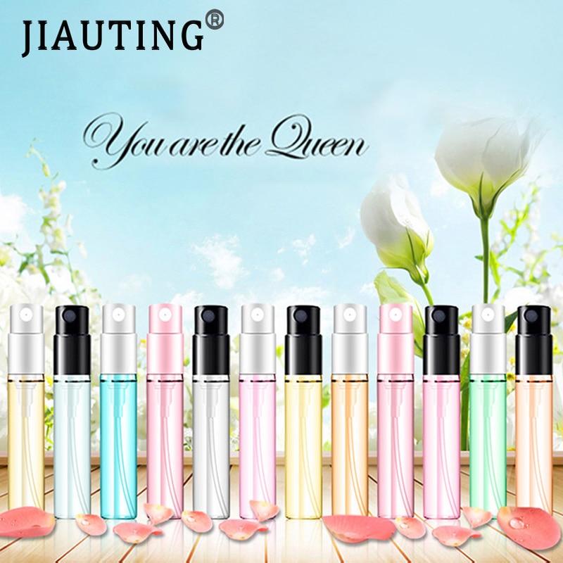 JIAUTING 3ml Parfüm Für Frauen Tragbare Parfüm Reise Lange Anhaltende Parfum Köln Duft Blume Spray Deodorant Mode Dame