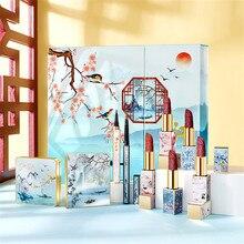 Chinese style carving lipstick sets  chinese style music makeup box set 11pcs/set