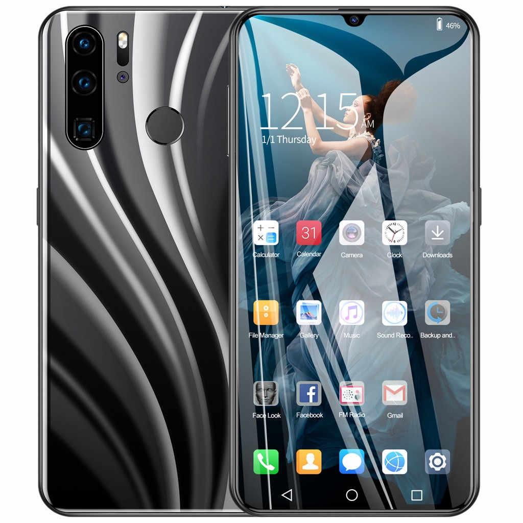الأكثر مبيعاً 2019 منتج P40 برو رباعية النواة 6.3 بوصة كاميرا أندرويد 6.1 1G + 16G GPS 3G دعوة الهاتف المحمول الولايات المتحدة دعم دروبشيبينغ