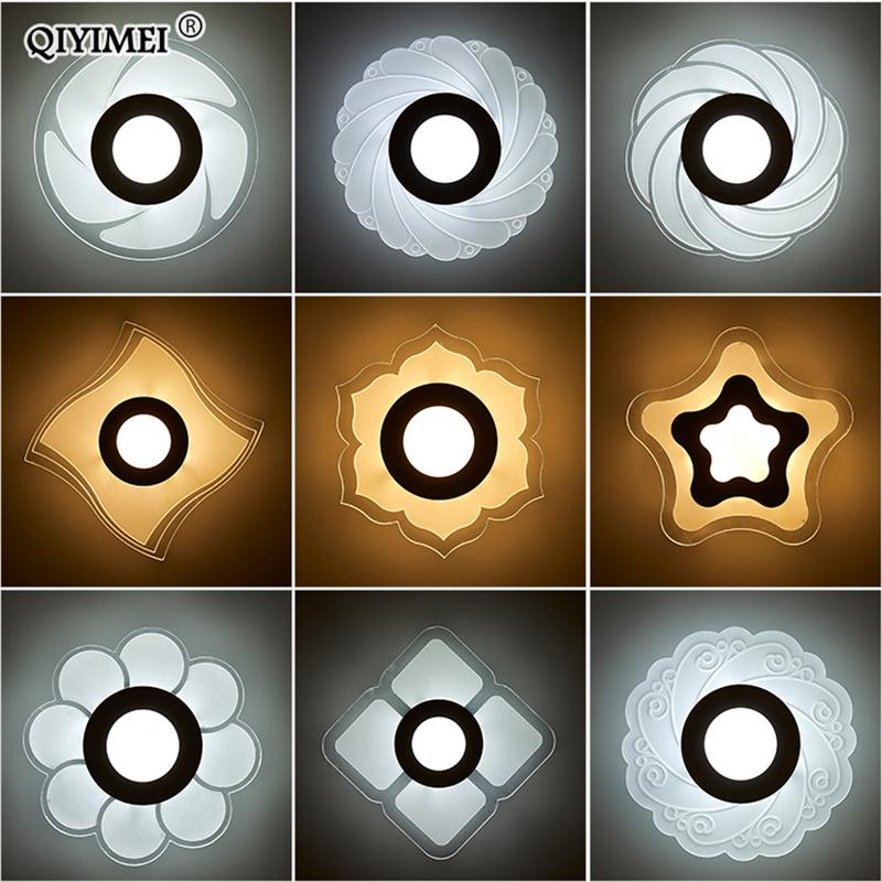 Modern LED Chandelier Lights Acrylic Indoor Lighting For Living Room Corridor Aisle Lamps Home Decorative Fixtures Dropshipping