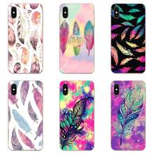 Soft Original Beauty Tribal Ethnic Feathers For HTC Desire 530 626 628 630 816 820 830 One A9 M7 M8 M9 M10 E9 U11 U12 Life Plus(China)