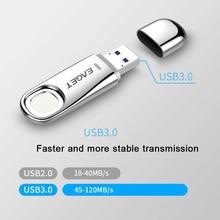 NEUE EAGET FU60 USB 3,0 Flash Drive 32GB 64GB High Speed Anerkennung Fingerprint Verschlüsselt Stift Stick Sicherheit Speicher USB 3,0 Disk