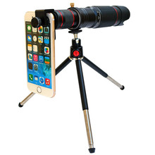 Cdragon optic phone mobile camera lens 36x telephoto telescope lens monocular+ selfie tripod for mobile phone Smartphones cheap