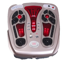 220V Infrared Foot Massager Electromagnetic Wave Pulse Circulation Booster Indoor Fitness Fatigue Relief Electric Foot Massager