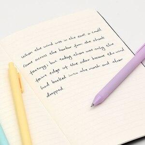 Image 4 - 6 компл./лот чистый ручка «Конфета» 0,5 мм шариковая ручка с черными цветные гелевые ручки для письма подарок Канцтовары офисный школьный поставки F696
