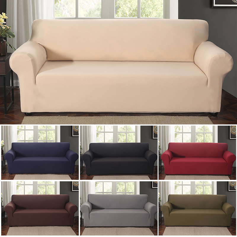High Grade Elastic Sofa Cover Stretch Furniture Covers Elastic Sofa Slipcover For Living Room Couch Case Covers 1/2/3/4 Place