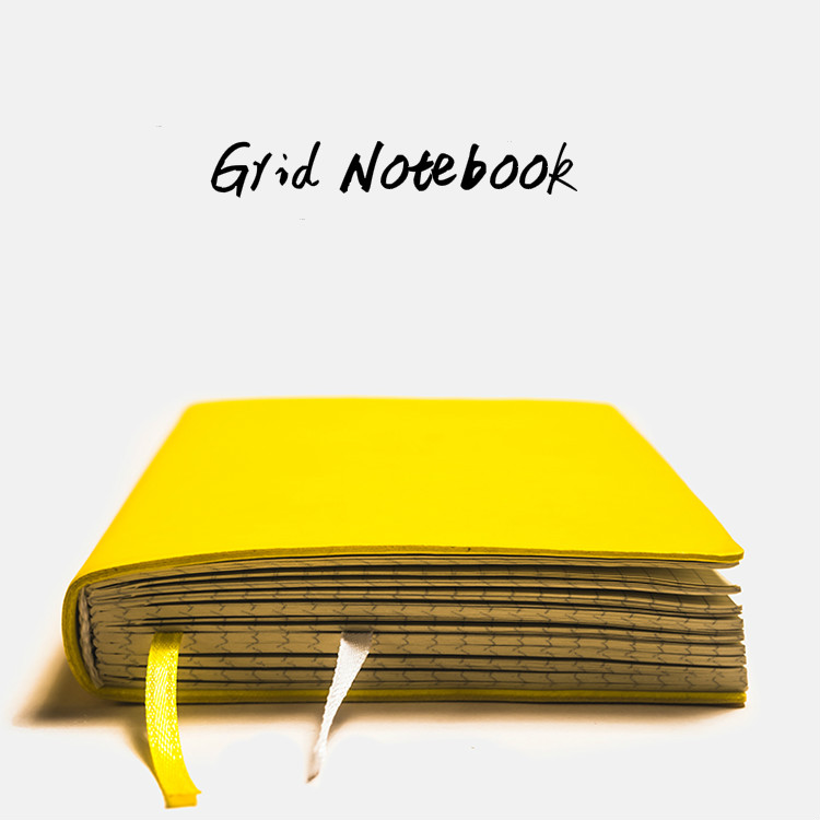 2020 Creative Soft Girl A5 Diary Grid Notebook Mini Travel Journal Thicken A6 Planner Organizer Agenda Bullet Journal Handbook