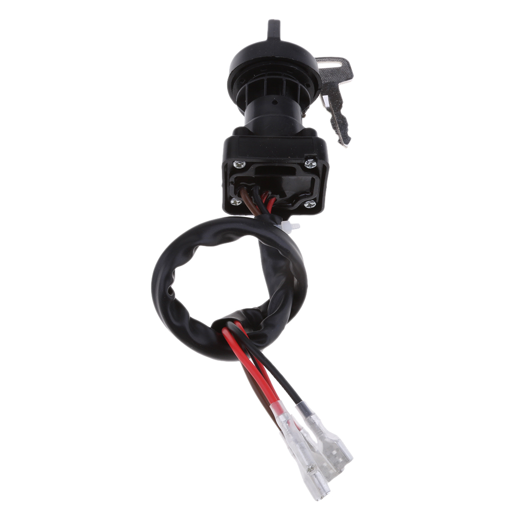 ATV Parts Ignition Switch With Keys For Polaris Sportsman 335 1999 2000 (Black)
