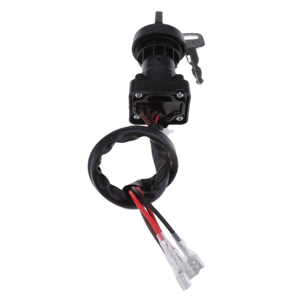 ATV Parts Ignition Switch With Keys For Polaris Sportsman 335 1999 2000 (Black)