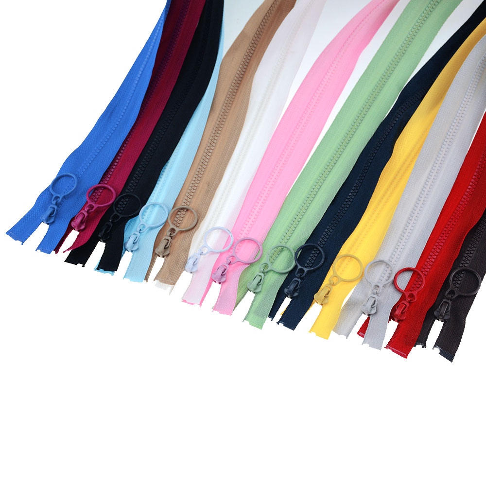 1Pcs No. 3 Resin Zippers For Sewing Decorative Children'S Color Zipper Puller Sleeping Bag Zipper For Garment Accessories