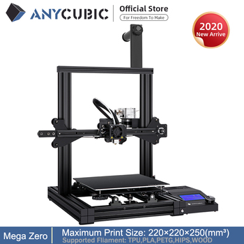 ANYCUBIC 3D Printer Mega Zero Impresora 3D DIY Kit Full Metal Large Printing Size Touch Screen LCD Filament SD Card 3d Drucker 1
